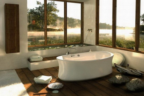 SPA LIKE BATHROOM DESIGN