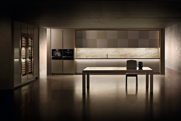 Armani Designed Kitchen Ideas Home Garden Architecture Furniture Interiors Design