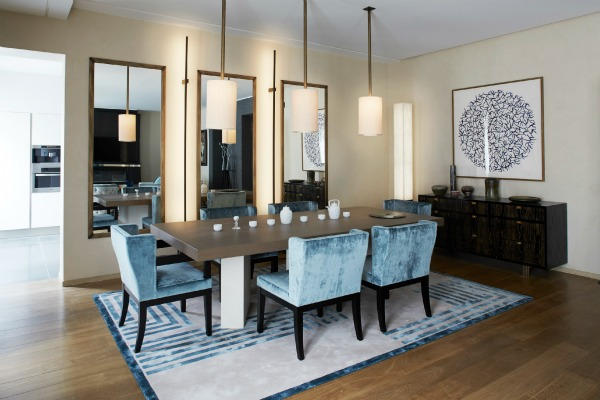 Ultra chic apartment by Stephanie Coutas