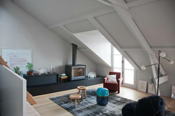 Modern duplex in Paris