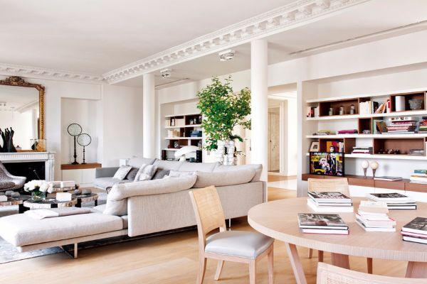 Parisian apartment with ingenious design