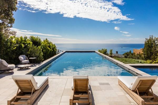 Irresistible villa in Malibu