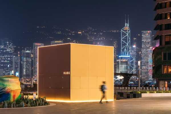 KUBE - an installation revealing a different face of Hong Kong