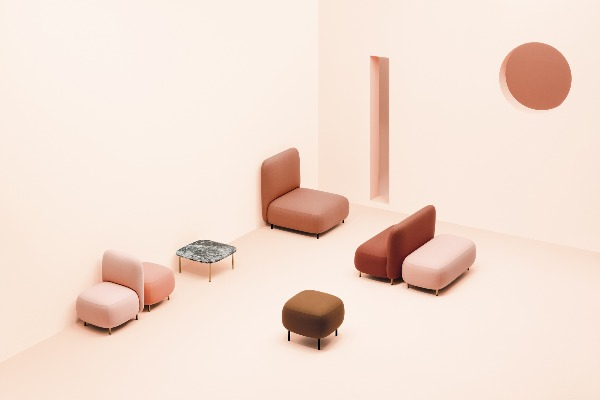 Modern and functional furniture for new workspaces