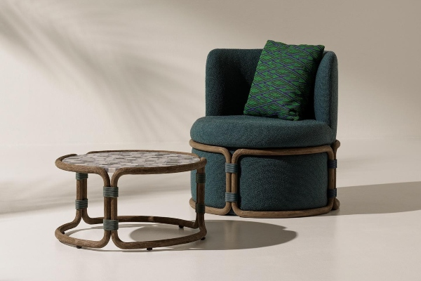 Furniture collection inspired by Asian tradition invites you to relax